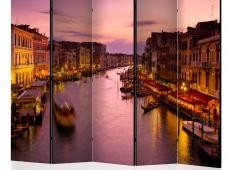Paraván - City of lovers, Venice by night II [Room Dividers]